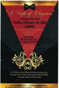 Southern District Night of Elegance @ Hotel Elegante | Colorado Springs | Colorado | United States